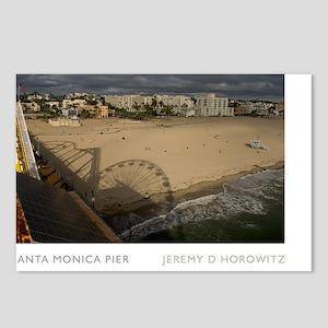 11X17-REV1-SANTA-MONICA-P Postcards (Package of 8)