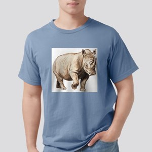 Rhinoceros Mens Comfort Colors Shirt