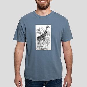 Giraffe Mens Comfort Colors Shirt