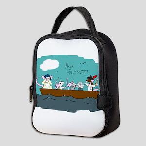 Trouble on Deck Neoprene Lunch Bag