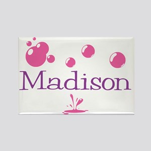 Madison Bubbles Rectangle Magnet