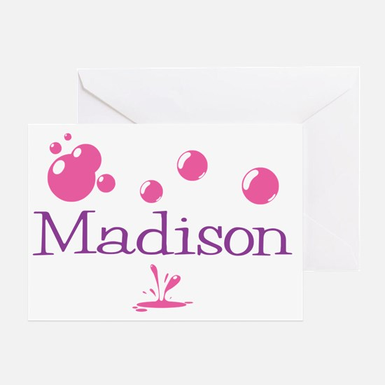 Madison Bubbles Greeting Card