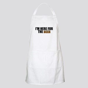 I'm Here for the Beer BBQ Apron