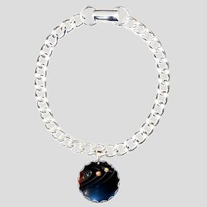 solarsystem2 Charm Bracelet, One Charm