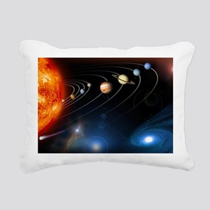 solarsystem2 Rectangular Canvas Pillow