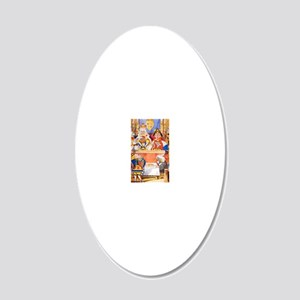 ALICE_2009_053 20x12 Oval Wall Decal