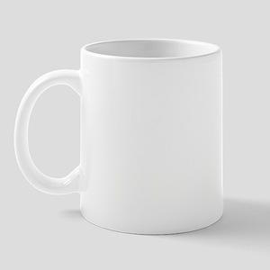 witek white letters Mug