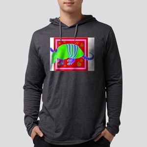 Armadillo Mens Hooded Shirt