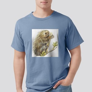 porcupine Mens Comfort Colors Shirt