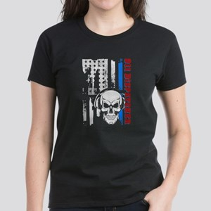 911 Dispatcher Flag Tees T-Shirt