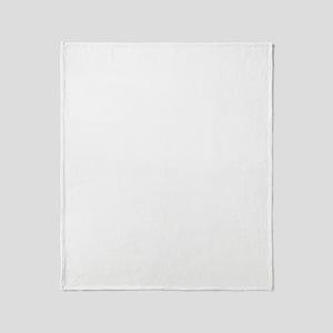 leprechaun-half-tux-one-color-big Throw Blanket