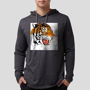 tiger Mens Hooded Shirt