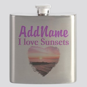 LOVE SUNSETS Flask