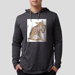 bobcat Mens Hooded Shirt