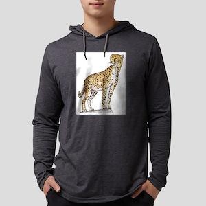 cheetah Mens Hooded Shirt