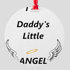 angel Round Ornament