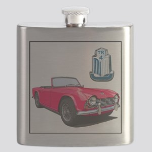 TR4red-4 Flask