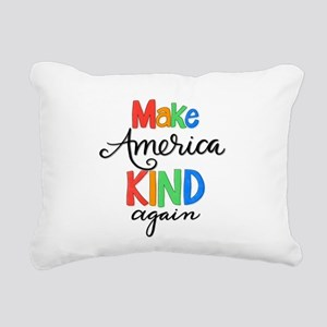 MAKA Rectangular Canvas Pillow