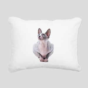 Sphynx Mania Rectangular Canvas Pillow