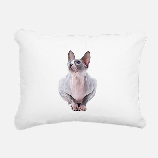 Sphynx Mania Rectangular Canvas Pillow