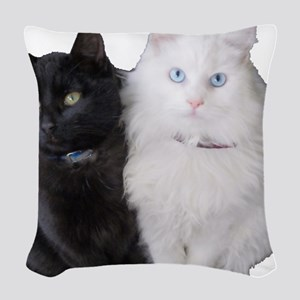 Brothers Woven Throw Pillow