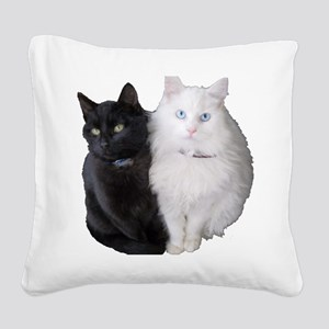 Brothers Square Canvas Pillow