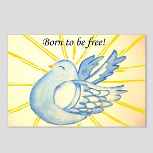 Born to be free! Postcards (Package of 8)