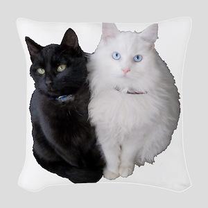 BrothersA Woven Throw Pillow