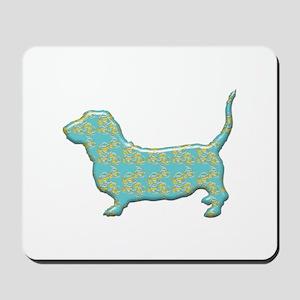 Paisley Basset Mousepad