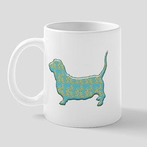 Paisley Basset Mug