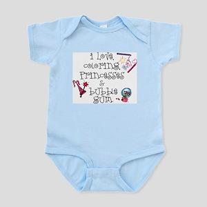 I Love Coloring Infant Bodysuit
