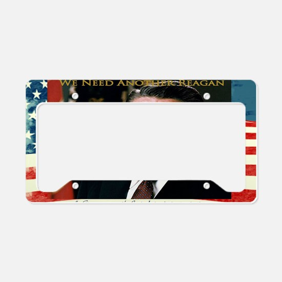 We Need Another Reagan_Rect-6 License Plate Holder