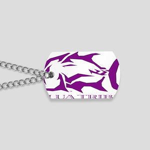 ulua tribe purple Dog Tags