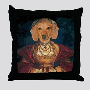 med evil lady tiger 12x16 Throw Pillow
