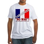 Saddamized France Fitted T-Shirt