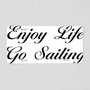 sailingScB Aluminum License Plate