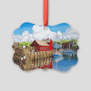 Rockport Cove Picture Ornament