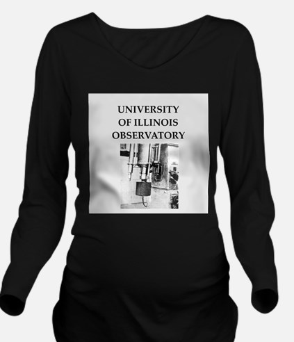 university illinois Long Sleeve Maternity T-Shirt