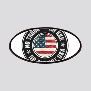 No Trump No KKK No Fascist USA Patch