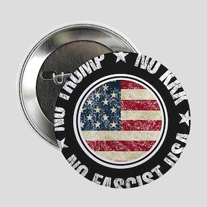 """No Trump No KKK No Fascist USA 2.25"""" Button (10 pa"""