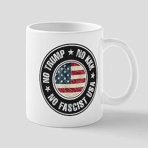 No Trump No KKK No Fascist USA Mugs