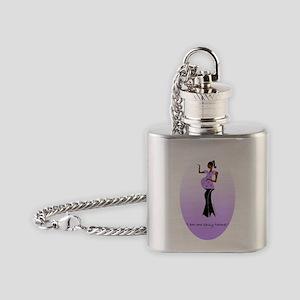 Sassy 3 Flask Necklace