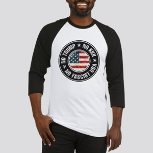 No Trump No KKK No Fascist USA Baseball Jersey