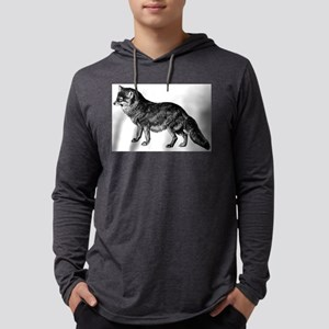 Coyote Mens Hooded Shirt