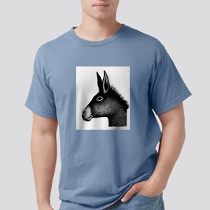 Donkey drawing Mens Comfort Colors Shirt