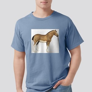 Clydesdale horse Mens Comfort Colors Shirt