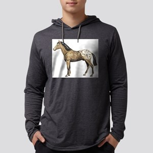 Appaloosa horse Mens Hooded Shirt