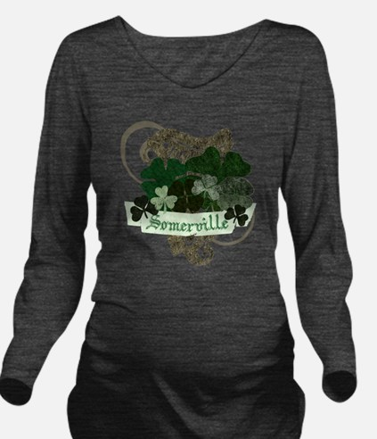 somerville-irish Long Sleeve Maternity T-Shirt
