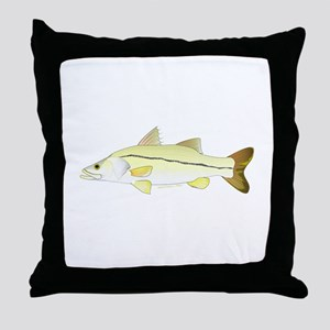 Common Snook Throw Pillow