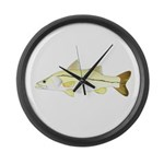 Common Snook Large Wall Clock